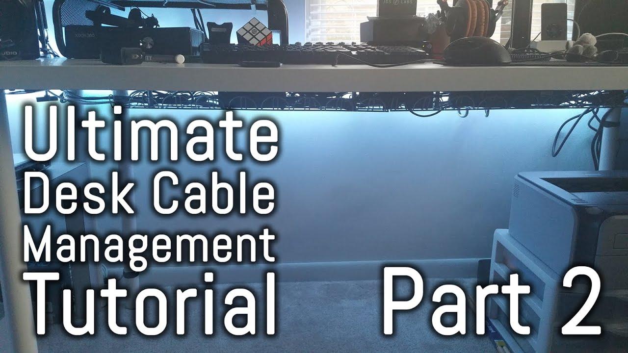 Desk Cable Management Guide - Part 2 - Signums|Cablox|Etekcity ...