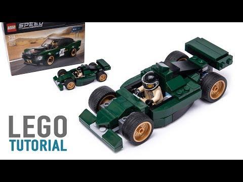Free Lego Car Instructions