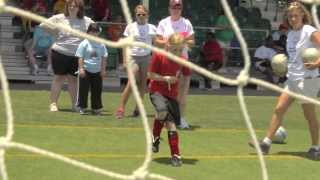 2013 Special Olympics Florida State Summer Games - Soccer Skills Highlights