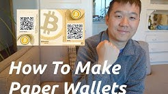 HOW TO: Set Up A Paper Wallet For Bitcoin/Ethereum! (In Under 5 Minutes)