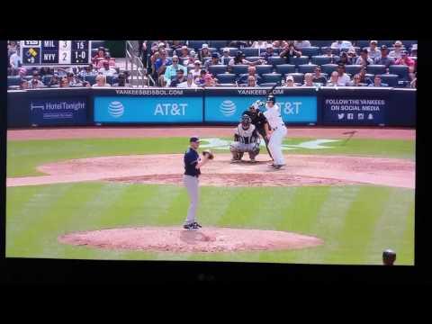 Clint Frazier first Yankee Stadium Home Run