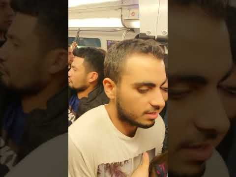 Metroda yine taciz