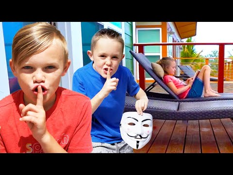 Kids Fun TV Jokes Compilation Video: Jokes on Dad, Funny Jokes
