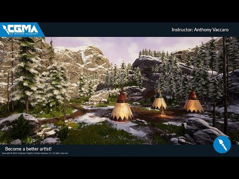Organic World Building in UE4 - CG Master Academy
