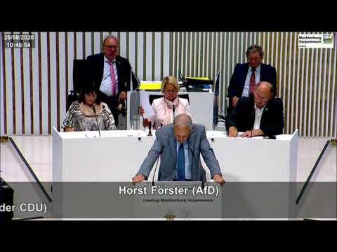 "Horst Förster: Umgang mit Corona: ""Abenteuerlich, unangebracht, beschämend!"""