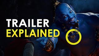 Aladdin 2019: Official Trailer Explained Review: Everything You Missed | All Easter Eggs