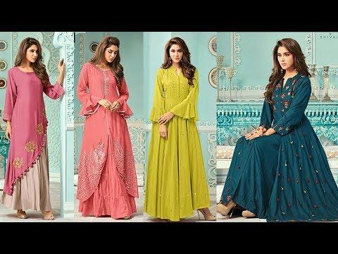 designer-long-kurti-designs|latest-long-dress|latest-designer-long-one-piece-dress-2018|trendyindia3