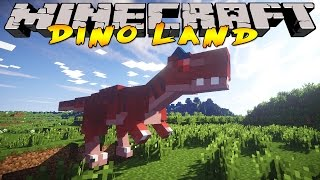 Minecraft Dinosaur World : DINOSAUR DNA!