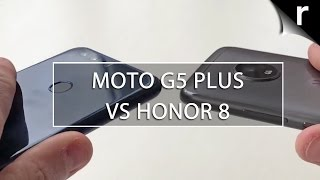 Moto G5 Plus vs Honor 8: Value-packed mobile face-off
