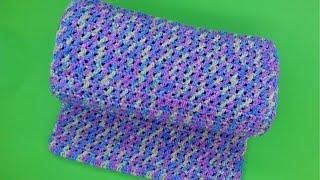 Вязание простого шарфа крючком