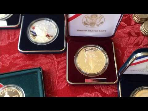 US MINT COMMEMORATIVES, SILVER & BRONZE COINS, HISTORY