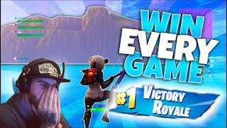 FORTNITE - Win (EVERY) Game Outside The Map Glitch! Best Fortnite glitches SEASON 8