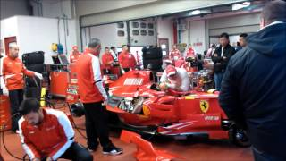 F1 FERRARI - Felipe Massa and Marc Genè - F 2008 v.s F 2002 - and more ... Pure sound