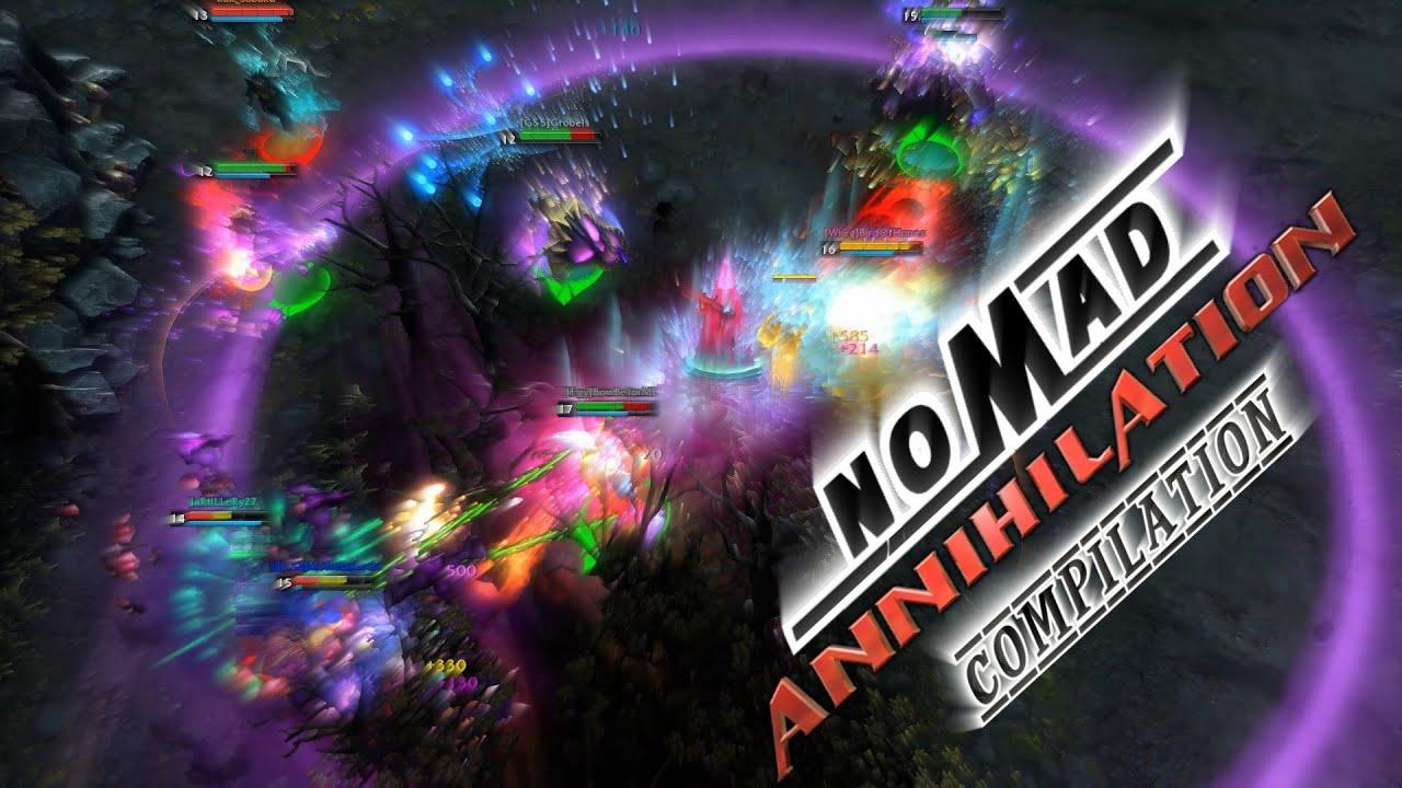 Nomad The Annihilator   Annihilation Compilation