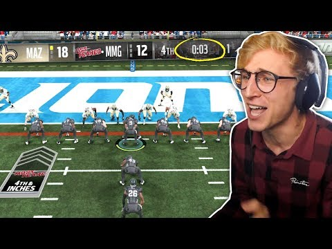 4TH AND INCHES WITH 3 SECONDS ON THE CLOCK!  WHEEL OF MUT! EP. #10