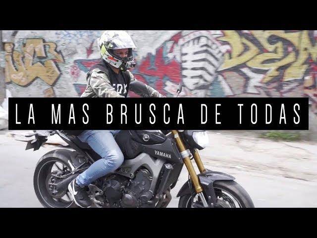 LA MÁS BRUSCA DE TODAS  |  YAMAHA MT09