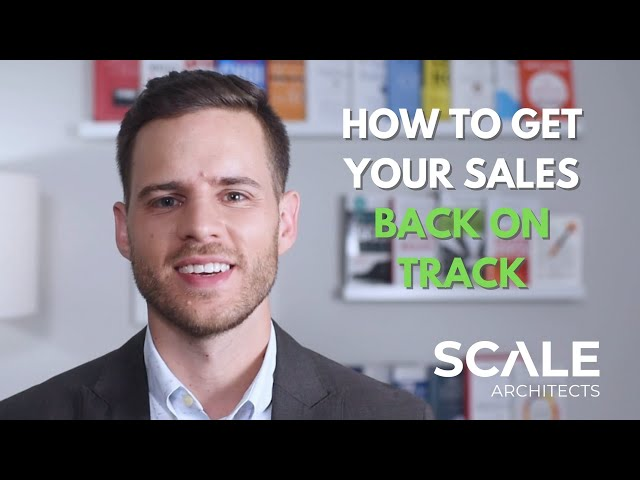 How to Get Your Sales Back on Track