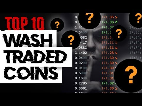TOP 10 Wash Traded Coins! Is Your Crypto Manipulated!?