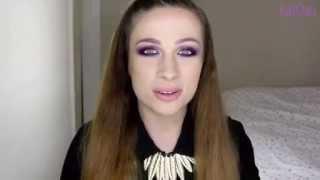 Kurs makijażu: Fiolet wieczorową porą - katOsu