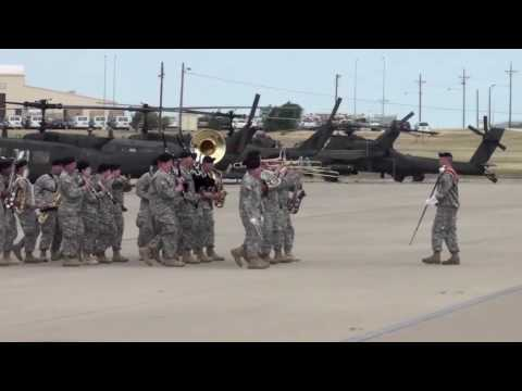 Pass In Review - 191st Army Band