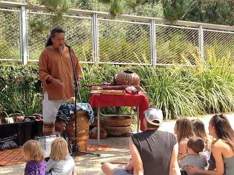 Indigenous American Music Taught to Children at Tongva Park
