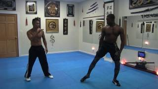 FMK Sparring - Sifu Freddie Lee vs. Davin - Medium Contact - 102216