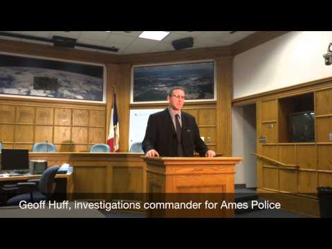 News Conference Briefing Following Pursuit, Shooting On Iowa State Campus