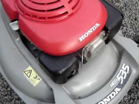 honda hrb engine youtube