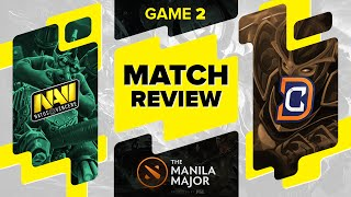 MATCH REVIEW:  Na`Vi vs DC - Game 2 @ The Manila Major