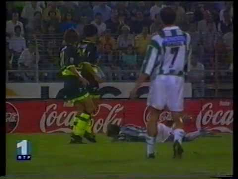01J :: V. Setubal - 1 x Sporting - 1 de 1998/1999