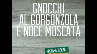 Gnocchi  al gorgonzola insaporita con noce moscata Caber