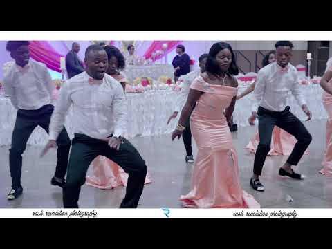 BEST CONGOLESE GROOMSMEN & BRIDESMAIDS freesyle 2019 Générique Ngi Ngo   Succès L'heure a Sonnée