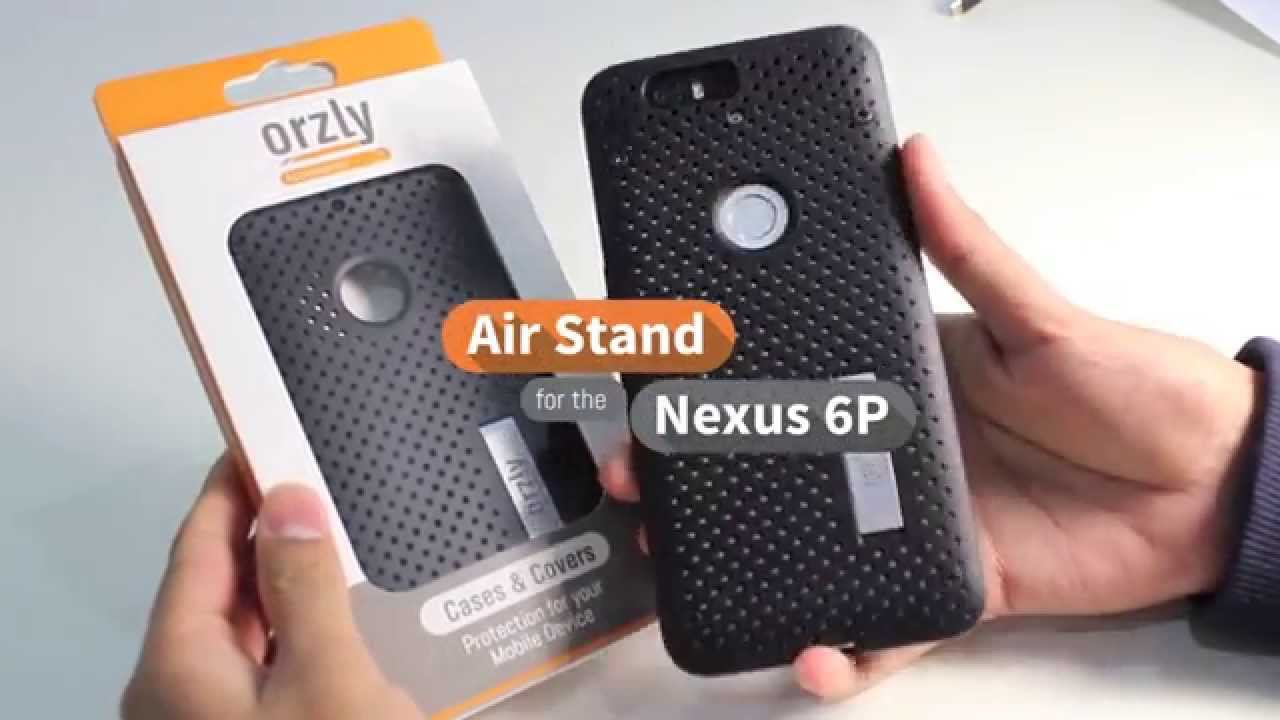 finest selection 5778f 7843d Orzly Air Stand Case for the Nexus 6P
