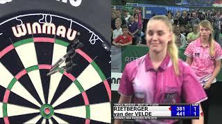 Winmau NDB Ranking Finale Meisjes Open Rotterdam 2018-2019