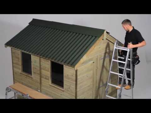 Onduline Installation Video Youtube