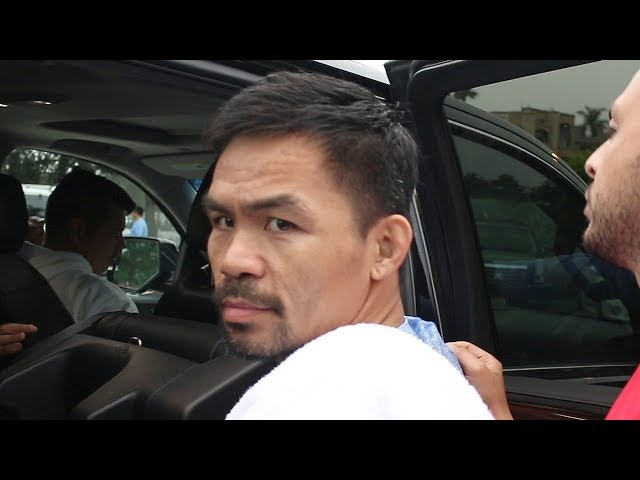 """MANNY PACQUIAO FIRES BACK AT THURMAN BETTING 10K ON KO """"THANK YOU FOR YOUR DONATION!"""""""