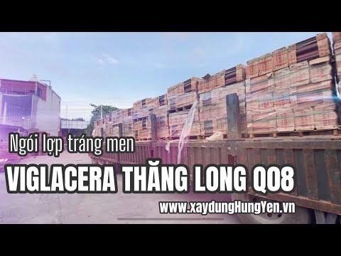 Ngói Lợp Tráng Men Viglacera Thăng Long - Q08 - Màu Chocolate | Phân Phối Bởi Cty Đức Thắng