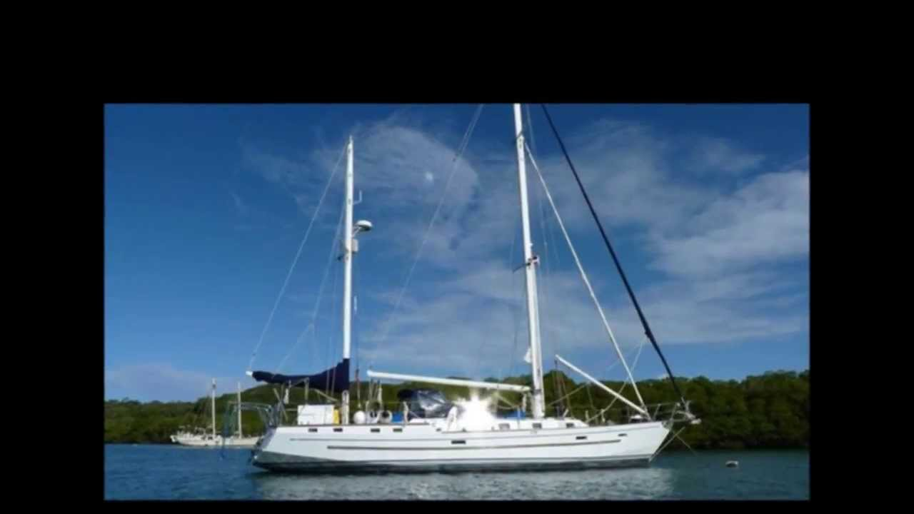 Bruce Roberts 57 Steel Ketch Video Clip YouTube