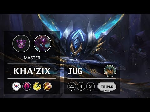 Kha'Zix Jungle vs Olaf - KR Master Patch 9.23