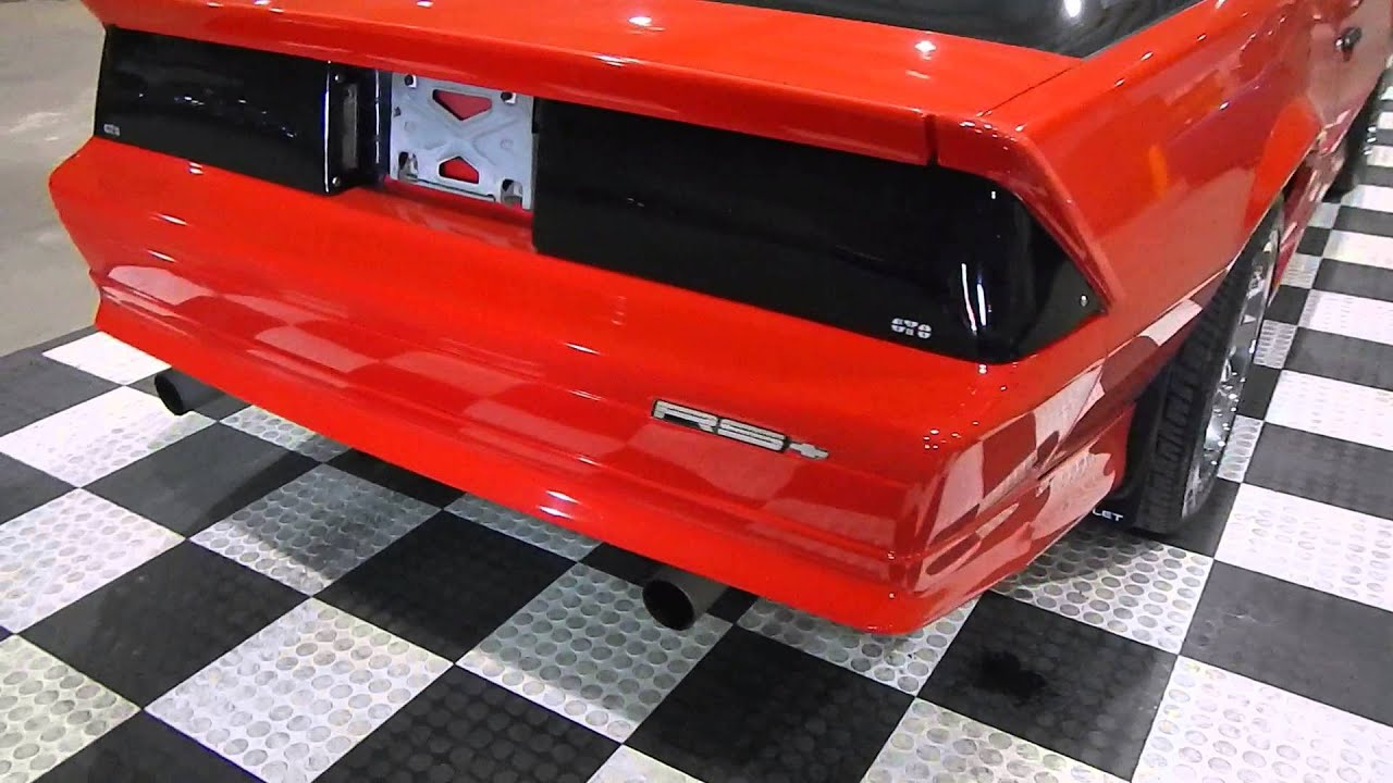 1991 chevrolet camaro ttop youtube