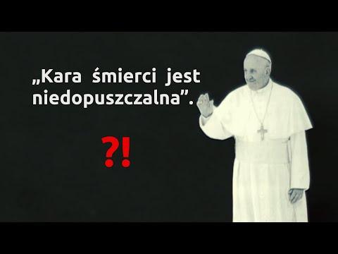Papież o karze śmierci