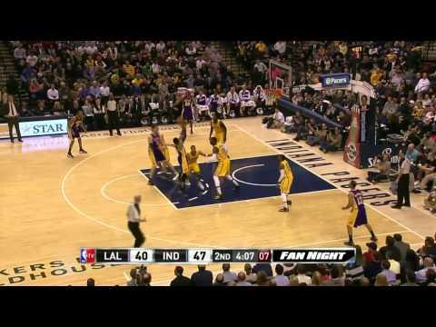 Los Angeles Lakers vs Indiana Pacers | February 25, 2014 | NBA 2013-14 Season