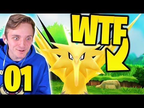 A LEGENDARY START?! | Pokémon Let's Go Pikachu Randomizer Nuzlocke Part 1