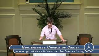 Guntersville Church of Christ Worship Service September 20, 2020 10:30 AM