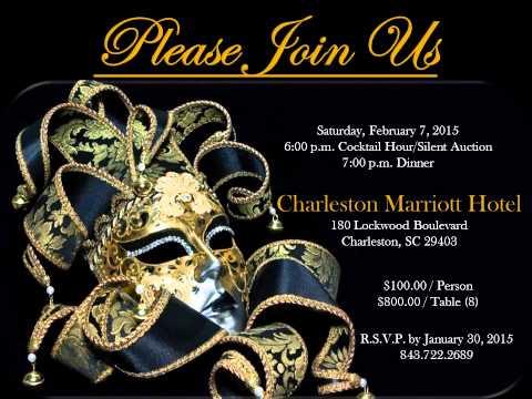 Charleston Development Academy | 2015 Black Tie Masquerade Ball