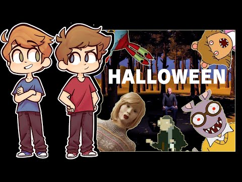 Two Boys Play SIX SCARY GAMES (HALLOWEEN SPECIAL)