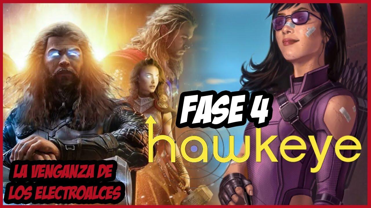 ¡Más Interesantes Noticias de la Fase 4 de Marvel!