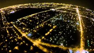 Chicago high altitude drone flight