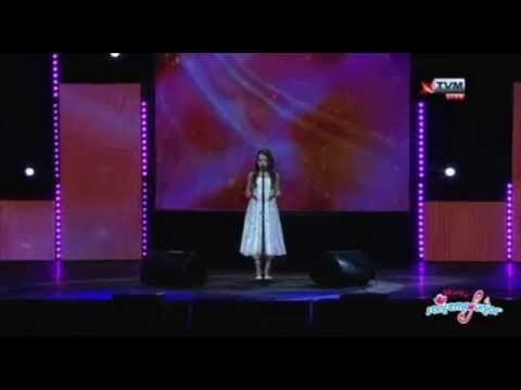 "Amira ""Song to the Moon"" LIVE @ Malta national finals SanRemo Junior 2015"