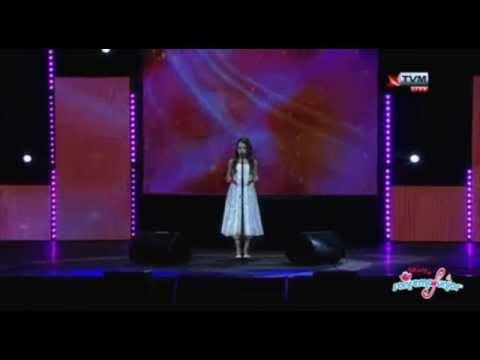 "Amira ""Song to the Moon"" LIVE @ Malta national finals SanRemo Junior 2015"
